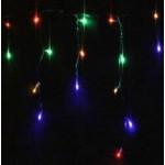Multi Colour LED Icicle Lights