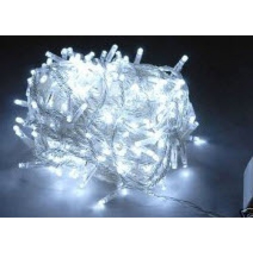 White LED Fairy Lights - Clear Cable