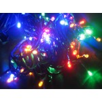 Multi Colour LED Fairy Lights - Green Cable