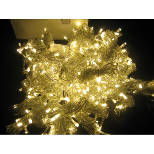 Connectable Fairy Lights - Warm White 40M. (Clear Cable)