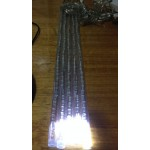Meteor / Melting Icicle Lights Snowing Effect 8 Tube 50cm 240 LED Christmas lights - WHITE