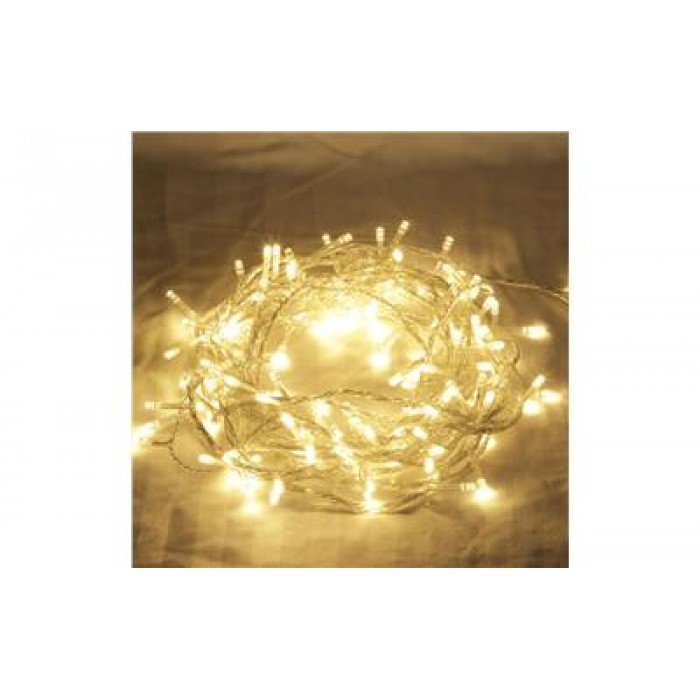 competitive price f42b0 c2f65 Warm White LED Fairy Lights - Clear Cable