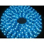 10M LED Rope Light -  Blue And White