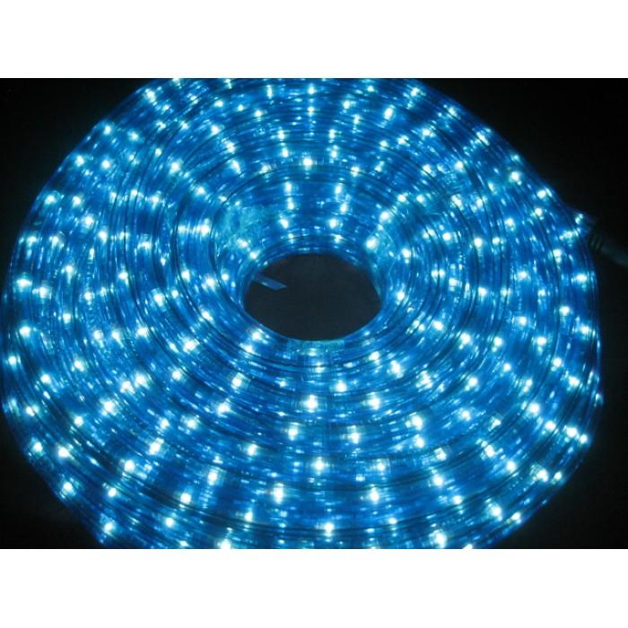 10M LED Rope Light - Blue And White
