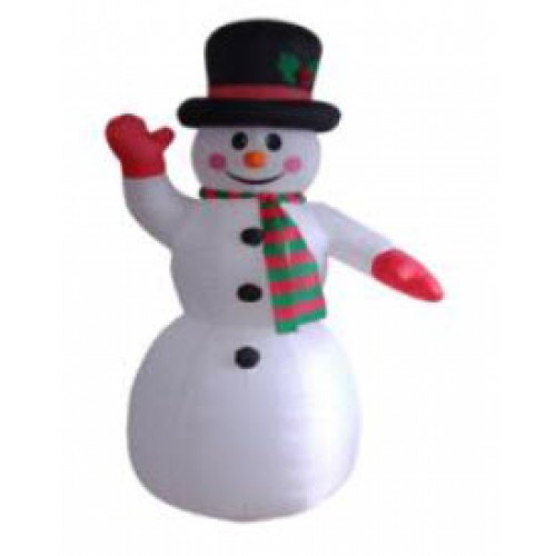 240CM Inflatable Snowman with Lights
