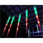 11.6M 140LED Christmas Icicle Tube Lights With Snowing Function - Multi Colour