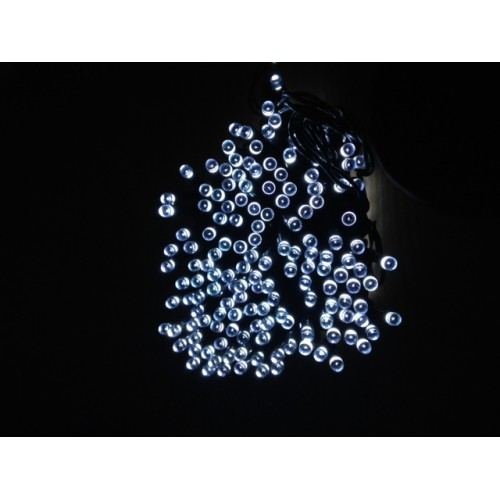 Icicle Solar Lights - White