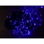 Icicle Solar Lights - Blue