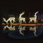 160CM. 3D Deer Pose 3 – H 2M – Outdoor Large Display Lights