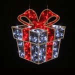 2D White/Red Gift Box – Outdoor LED Big Display Lights