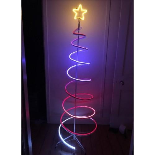 3D 150CM Spiral Tree  Neon Dual Colour